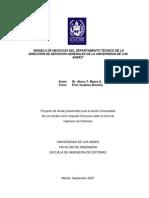 Modelo de Negocio Dpto-TECNICO 2007