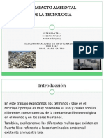 Impacto Ambiental Powerpoint