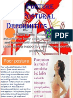 Good Posture and Postural Deformities