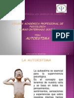 Taller Paiccologica de Autoestima. dirigido a adolescentes, las causas, caracteristicas, tecnicas etc