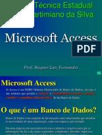 Apresentação access 2010