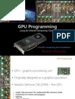 Gpu Programming Talk
