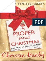 A Proper Family Christmas by Chrissie Manby - first chapters