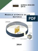 modelo atomico de la materia