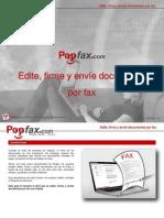 Nueva característica Popfax.com Guía fácil para usuarios