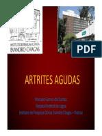 Artrites Agudas Marcelo Gomes 2012