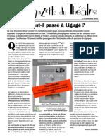 La Gazette du théâtre n°05, nov. 2014