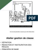 Atelier Gestion Classe A08