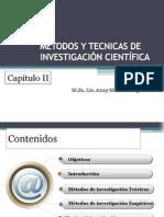 Capitulo II Métodos y Técnicas de Investigación Cientifica