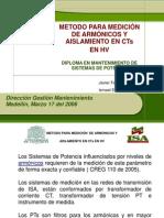 Medida en Borne Capacitivo de CT3.ppt