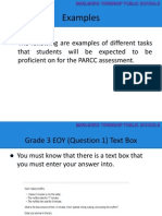 examples of parcc mathematics problems
