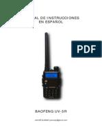 Manual de Instrucciones de Baofeng UV-5R en Español (Javier Alonso).pdf