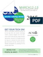 15 techconference flyer