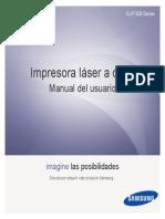 Manual Impresora Samsung CLP 325