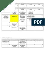 Orientation Schedule 2014