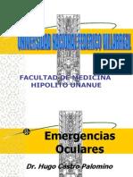 Clase Emergencias Oculares -oftalmología