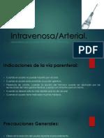 Psicofarmacología - Absorción Intraevenosa Arterial