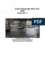 Greater Karachi Sewerage Plan 2007-2011