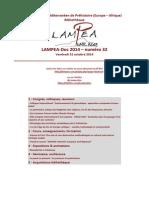LAMPEA-Doc 2014 – numéro 32 / Vendredi 31 octobre 2014