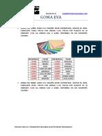 Catalogo Goma Eva 2014