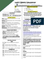 Newsletter 11-3-14
