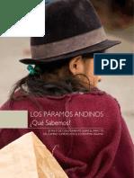 """""""LOS PÁRAMOS ANDINOS. ¿Qué Sabemos? ESTADO DE CONOCIMIENTO SOBRE EL IMPACTO DEL CAMBIO CLIMÁTICO EN EL ECOSISTEMA PÁRAMO"""""""