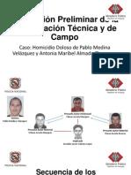Conclusion Preliminar caso Homicidio Doloso Pablo Medina