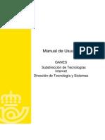 CAS Manual Usuario GANES v2.0.11