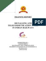 Indian Railway Training for B.Tech [UPTU/GBTU/MTU/RGPV]