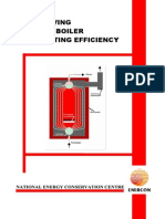 Improving Steam Boiler Efficiency