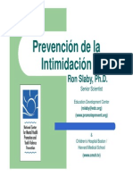 prevencion intimidacion