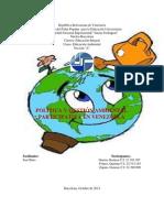 Política y Gestión Ambiental Participativa en Venezuela