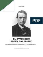 9416020 Rudolf Steiner El Evangelio Segun San Mateo