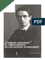 9570914 Rudolf Steiner Como Se Adquiere El Conocimiento de Los Mundos Superiores(2)