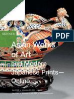 Asian Works of Art & Modern Japanese Prints—Online