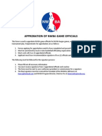 NWBOA Approbation Form
