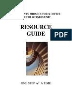 Victim Witness Resource Guide