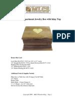Plans Secret Jewelry Box