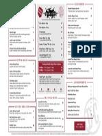 Dallas Chop House new menu