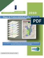 Estudio de Vulnerabilidad Hidrogeologica Valle de Esteli