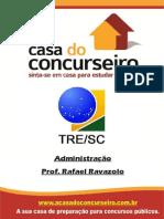 Apostila TRE SC Administracao Rafael Ravazolo
