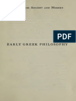 Early Greek Philosophy - Benn, Alfred William