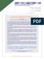 Institut Nat Recherche Pedagogieque_Contenus&Programmes Scolaires
