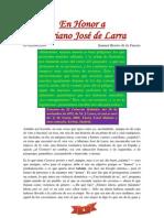 En Honor a Mariano José de Larra