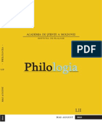 Revista Philologia, nr. 3-4,2010