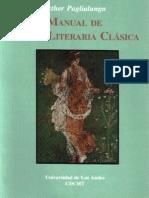 Esther Paglialunga, Manual de Teoría Literaria Clásica