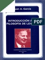 Garcia, Juan,A. - Introduccion a La Filosofía de Levinas