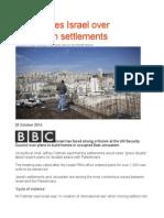 UN Rebukes Israel Over Jerusalem Settlements