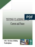 Jh Testing Cladding in Nz