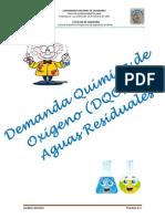 GUIA N° 4 ANALISIS QUIMICO- DQO EN AGUAS RESIDUALES